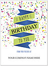 Birthday Banner Name Card D8162U-V
