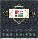 Corporate Logo Calendar Card D8176U-4A