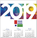 Colorful Logo Calendar Card D8177U-4A