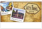 World Travels Desk Calendar WSDCAJ19