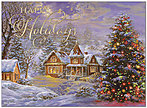 Holiday Cottage Greeting Card H8178G-AAA