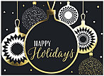 Graphic Ornaments Holiday Card H8180G-AAA