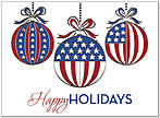 Patriotic Holidays Card H8183S-AAA