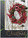Festive Berry Wreath Christmas Card H8186G-AAA