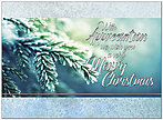 Christmas Appreciation Card H8188U-AA