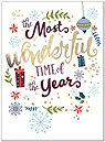 Most Wonderful Time Holiday Card H8200U-AA