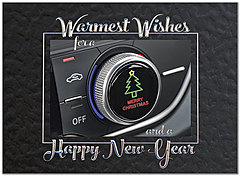 Auto Holiday Card H8213U-AA
