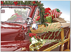 Automotive Christmas Cards