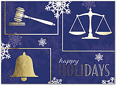 Legal Snowflakes Holiday Card H8216U-AA