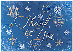 Business Christmas Thank You Cards