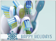 Holiday Hygiene Greeting Card D8226U-A
