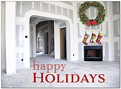 Holiday Build Greeting Card D8227U-A