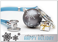 Medical Christmas Cards