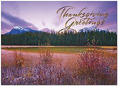 Dawning Autumn Thanksgiving Card H8090G-AAA