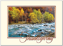 Fall River Thanksgiving Card H8091V-AAA