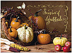 Fruitful Gathering Thanksgiving Card H8093U-AA