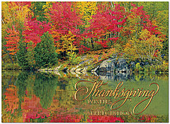 Thanksgiving Reflection Card H8094U-AA