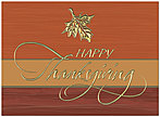Classic Thanksgiving Card H8096U-AA