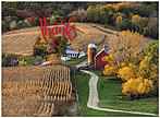 Harvest Homecoming Thanksgiving Card H8099U-A