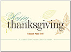 Simply Thanksgiving Name Card D8114U-4B
