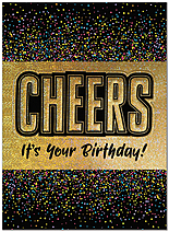 Birthday Cheers Card A9020U-X