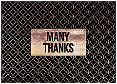 Many Thanks Pattern Card A9067D-X