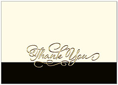 Dressed Up Thank You Card A9068D-X