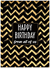 Vogue Birthday Pattern Card A9080U-X