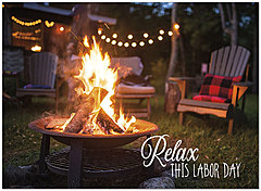 Relax This Labor Day Card D9045U-Y