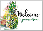 Pineapple Welcome Card D9054D-X