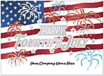 Fireworks Name Card D9079U-4W