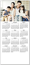 Custom Magnetic Mini Calendar D9130Q-4A