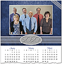 Corporate Photo Calendar Card D9136U-4A