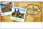 World Travels Desk Calendar WSDCAJ20