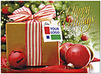 Holiday Gift Logo Card D9081U-4B