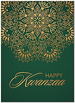 Happy Kwanzaa Greeting Card D9205U-A