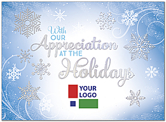 Business Christmas Logo Cards