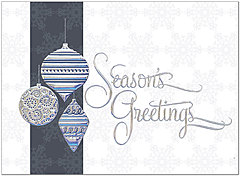 Classic Ornaments Holiday Card H9151S-AAA