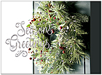Season's Welcome Holiday Card H9153S-AAA