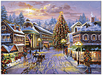 Glowing Christmas Card H9159U-AA
