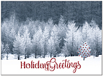 Woodland Greetings Holiday Card H9160U-AA