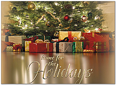 Holiday Gifts Greeting Card H9161U-AA