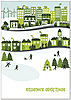 Sustainable City Holiday Card H9170KW-AA