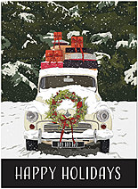 Holiday Delivery Greeting Card H9173U-AA