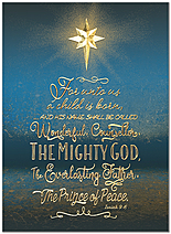 Prince of Peace Christmas Card H9175U-AA
