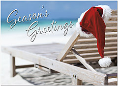 White Sand Holiday Card H9186U-A