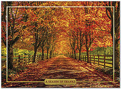 Memory Lane Thanksgiving Card H9083G-AAA
