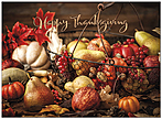 Bountiful Basket Thanksgiving Card H9085G-AAA