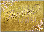 Copper Tradition Thanksgiving Card H9086G-AAA