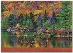 Northern Colors Thanksgiving Card H9090U-AA